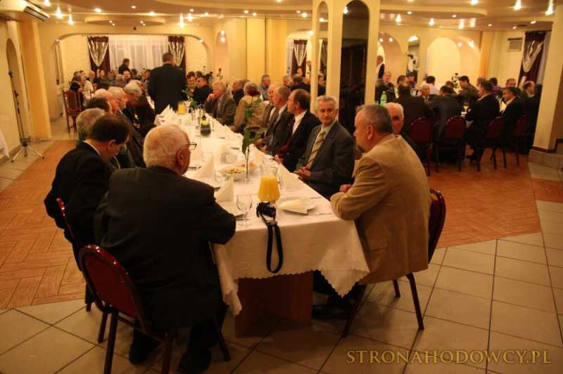 Wręczenie nagród Regionu VI PZHGP. 13.11.2010